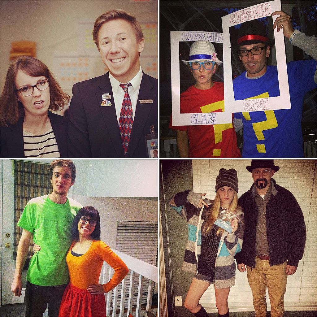 Listen Up, Couples! These Easy Last,Minute Costume Ideas
