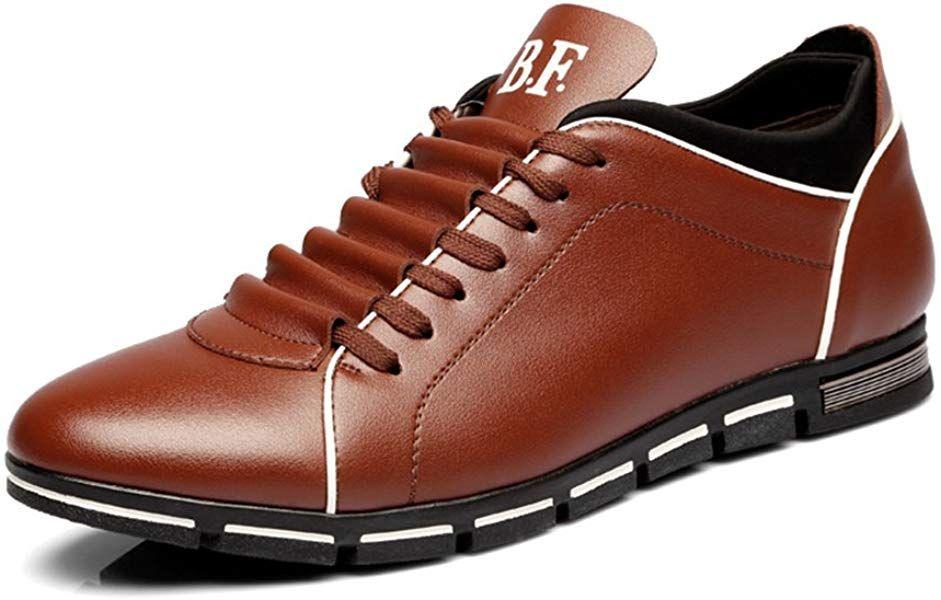 venta reino unido Boutique en ligne más nuevo mejor calificado CUSTOME Hombre Casual Cuero PU ATA Los Zapatos Zapatillas ...