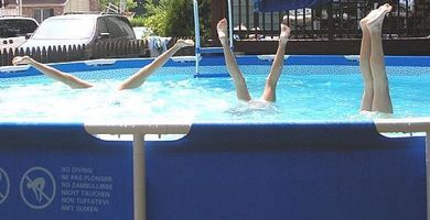 How to keep your intex pool in good shape cleaning intex pool in ground pools pool landscaping for How to maintain an above ground swimming pool