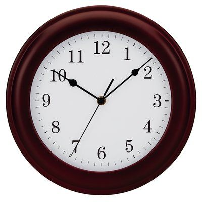 Symple Stuff 12 Wood Wall Clock Clock Wood Wall Wood