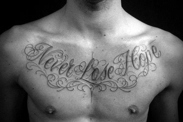 Photo of #designs #tattoo #phrase #chest #quote #ideas