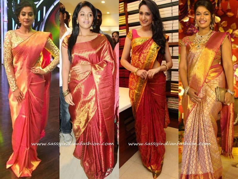 20 Best Kanchipuram Korvai Silk Sarees images | Saree ...