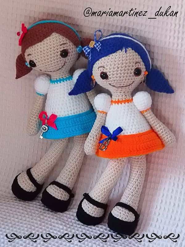 Sofia, patrón de Lilleliis | Amigurumi, Crochet dolls and Crochet