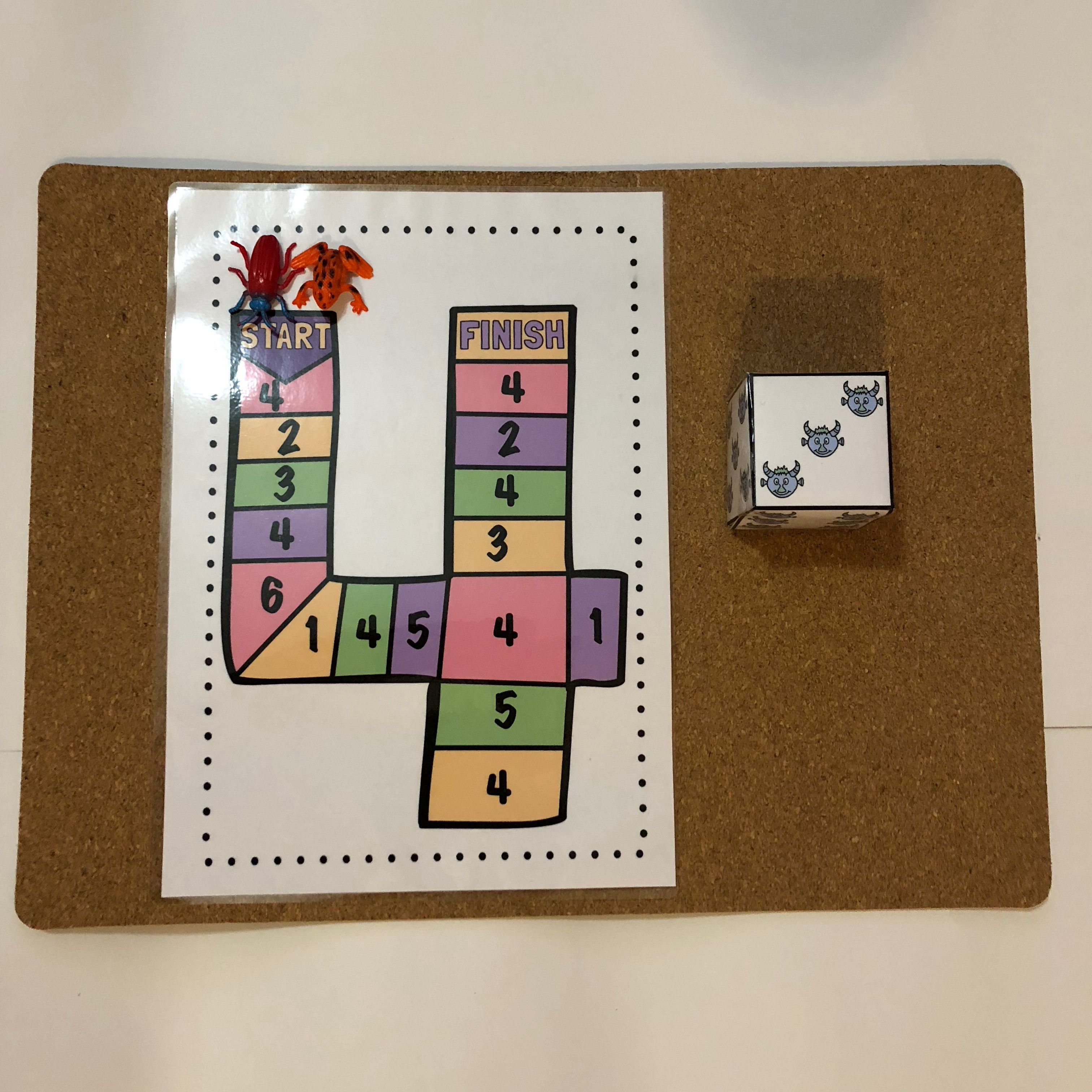 Number Recognition Game And Find The Number Worksheets