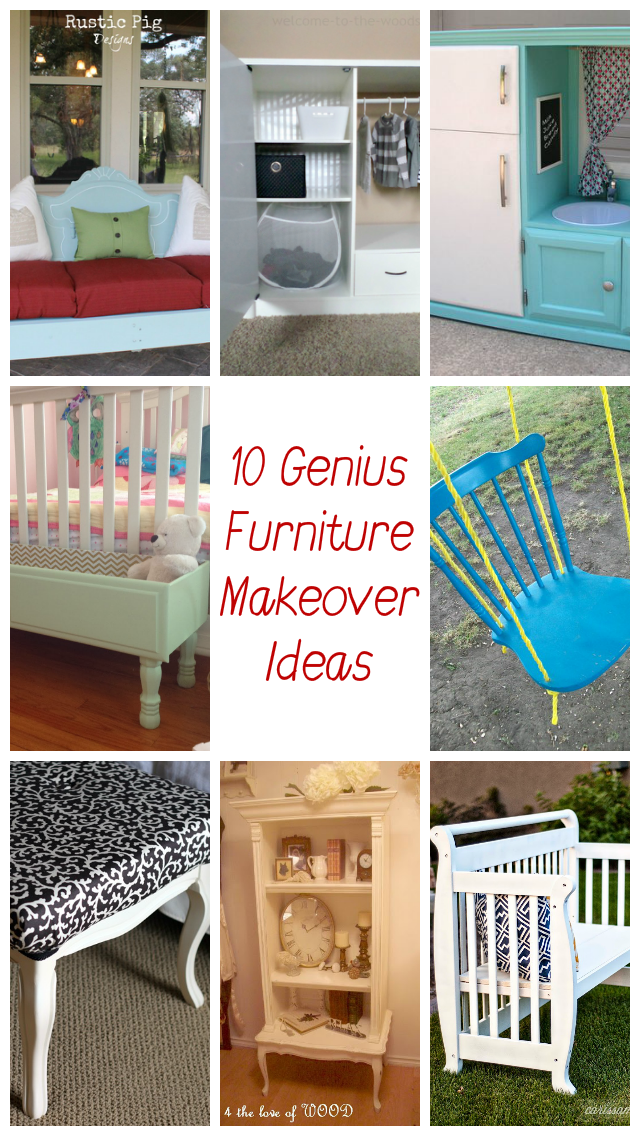 Give Old Furniture New Life With These 10 Genius Makeover Ideas