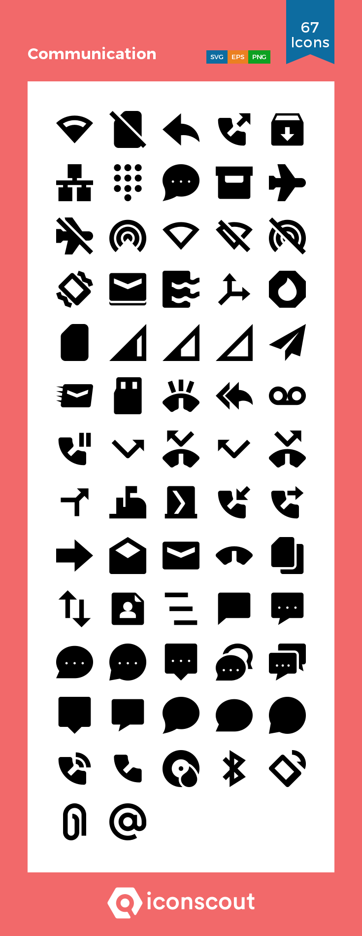 Download Communication Icon Pack Available In Svg Png Eps Ai Icon Fonts Communication Icon Glyph Icon Icon Pack