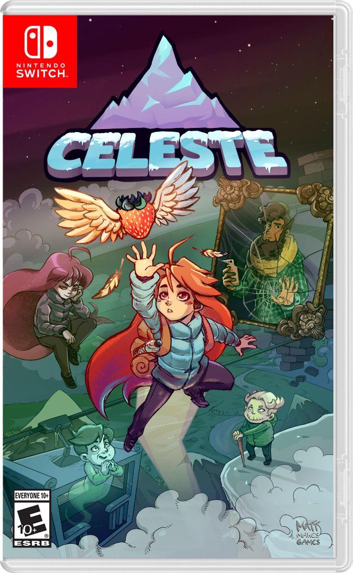 1395 Celeste Game Casecustom Cover Nintendo Switch Eshop