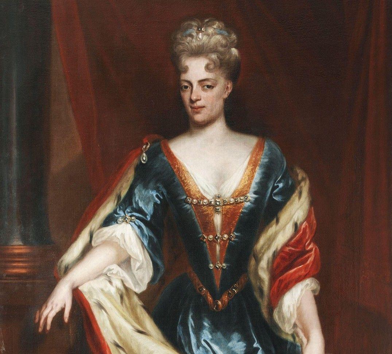 Prinses Maria Louise van Hessen Kassel (1688-1765) weduwe van de ...