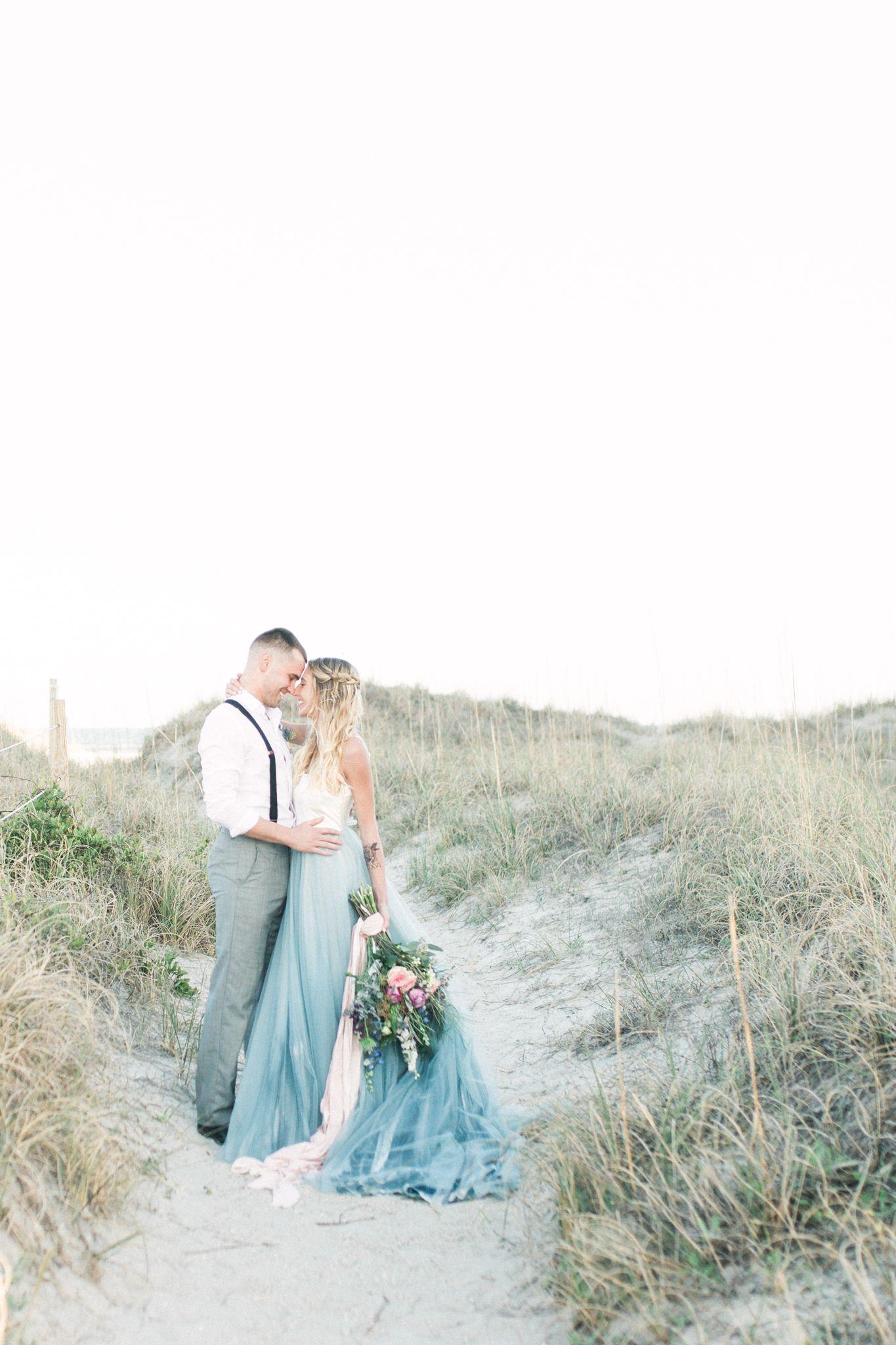 Wrightsville beach wedding mermaid inspired wedding wilmington