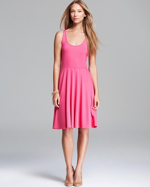 Three Dots Midi Tank Dress | Bloomingdale's