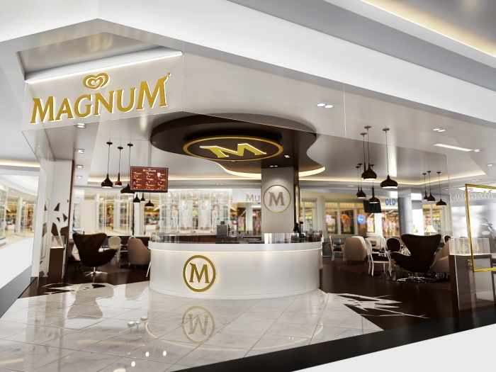 Walls magnum pop up store jakarta by herry mahardika at for Magnum pop up shop