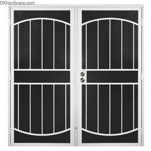 CRL Columbia Gibraltar White 60\  x 80\  Double Security Door  sc 1 st  Pinterest & CRL Columbia Gibraltar White 60\u0026quot; x 80\u0026quot; Double Security ...