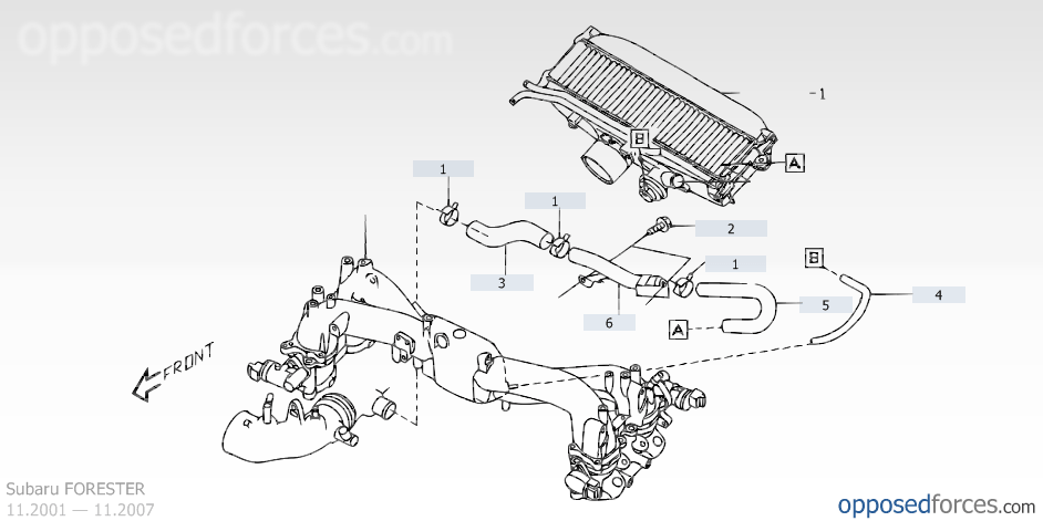 Pin by Eric Coker on 2004 FORESTER XT DIAGRAMS (With