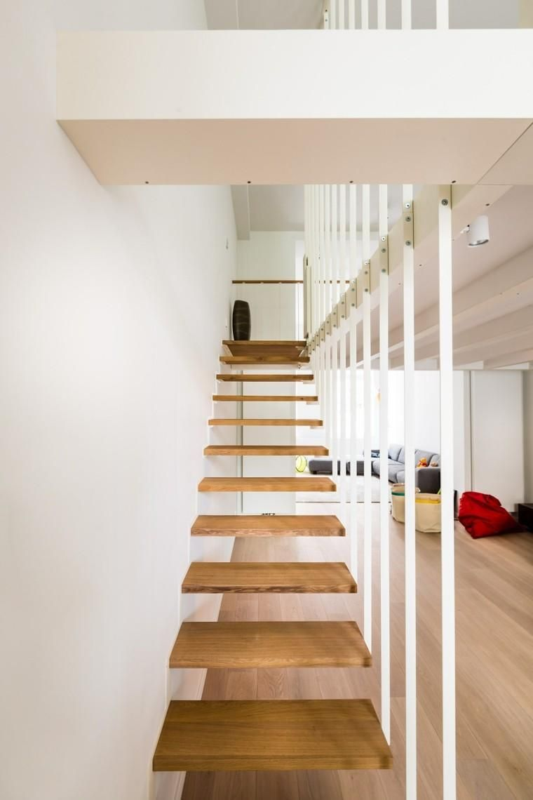 Best Stairs Hang Against Suspended Stairs Stair Decor Wood Staircase Wood Stairs 400 x 300