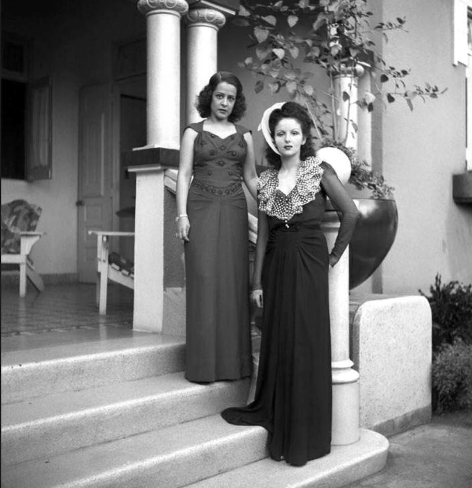 """*...""""Damas de la capital!. Ciudad Trujillo!. 1942.~*~."""