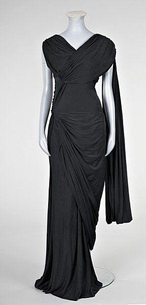 Lanvin Dress - 1930's - by Jeanne Lanvin - Kerry Taylor Auctions - @~ Mlle