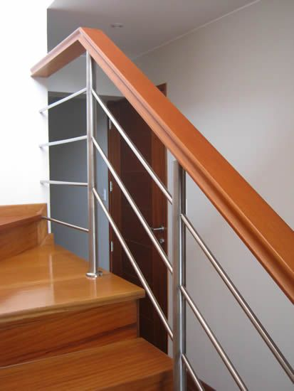 Barandas de escaleras google search house designs for Pasamanos de escaleras interiores