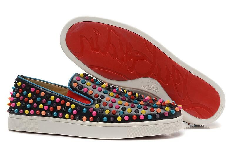 100% authentic 124c9 9397a christian louboutin replica shoes high quality AAA+ leather ...