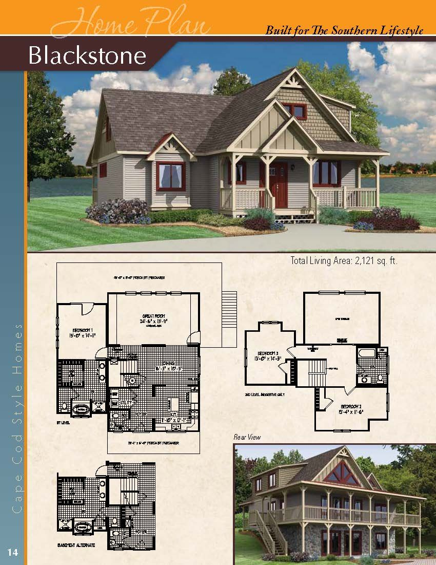 The Blackstone A Cape Cod Styled Home House Styles Building A New Home Modular Homes