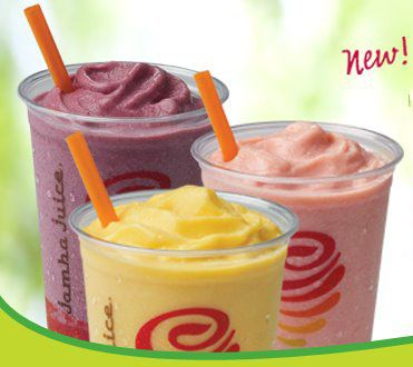 Jamba Juice!!! i love that!!