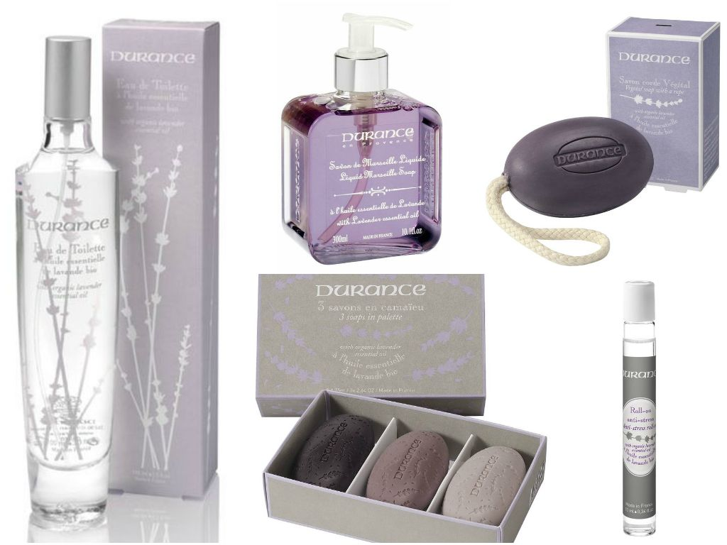 durance en provence organic lavender products - made in france