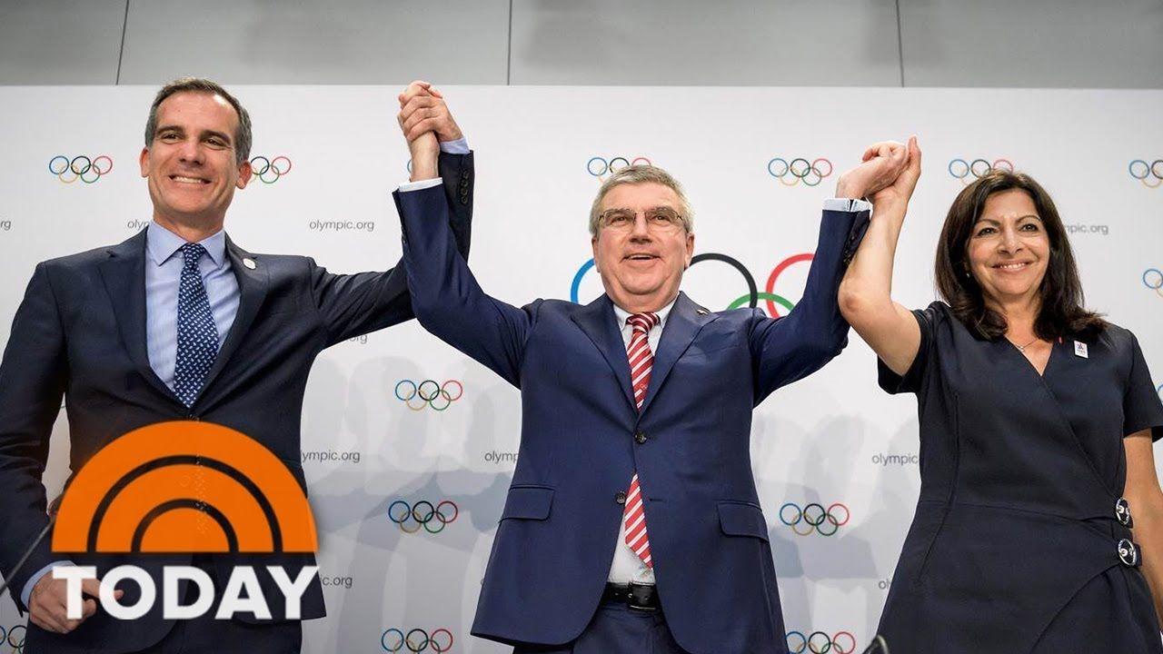 Los Angeles Mayor Eric Garcetti Says 2028 Olympics Are A Huge Win For Olympics Eric Garcetti Summer Games