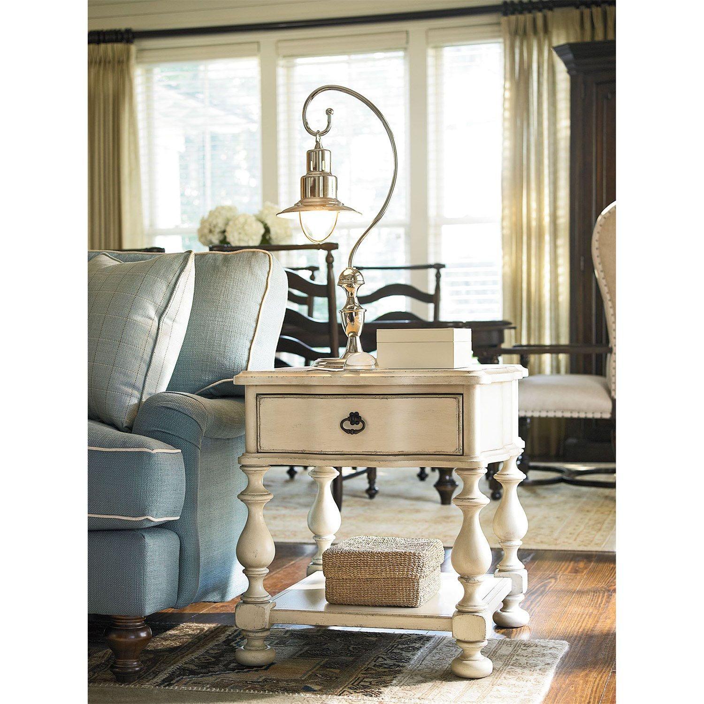 Paula Deen Furniture 393802 River House End Table Furniture