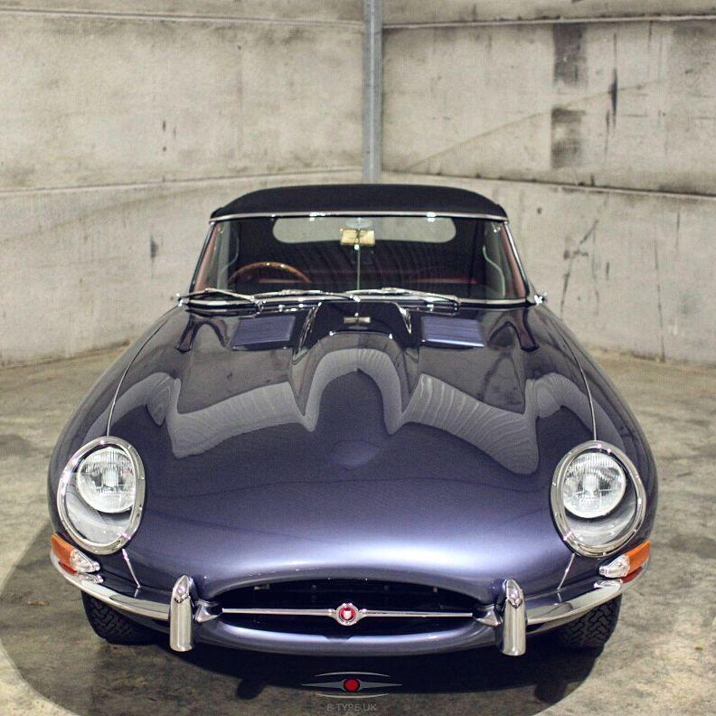 1962 Jaguar E Type 3 8 Ots Finished In Opalescent Dark Blue