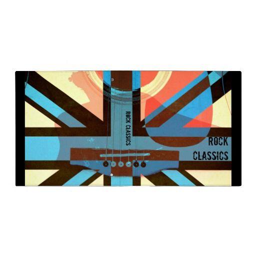 British rock classics acoustic guitar binder