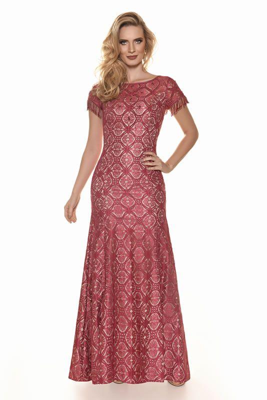 05cd2725f8 Woman - Fascinius Moda Evangélica Vestido De Festa Estampado