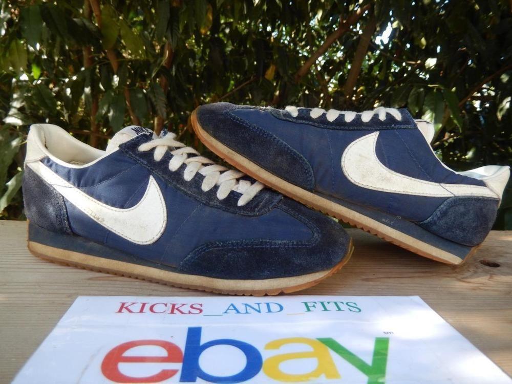 buy popular 288c5 007bb VTG OG 1983 Womens Nike Running Shoes Blue size 8 made in Philippines Rare…