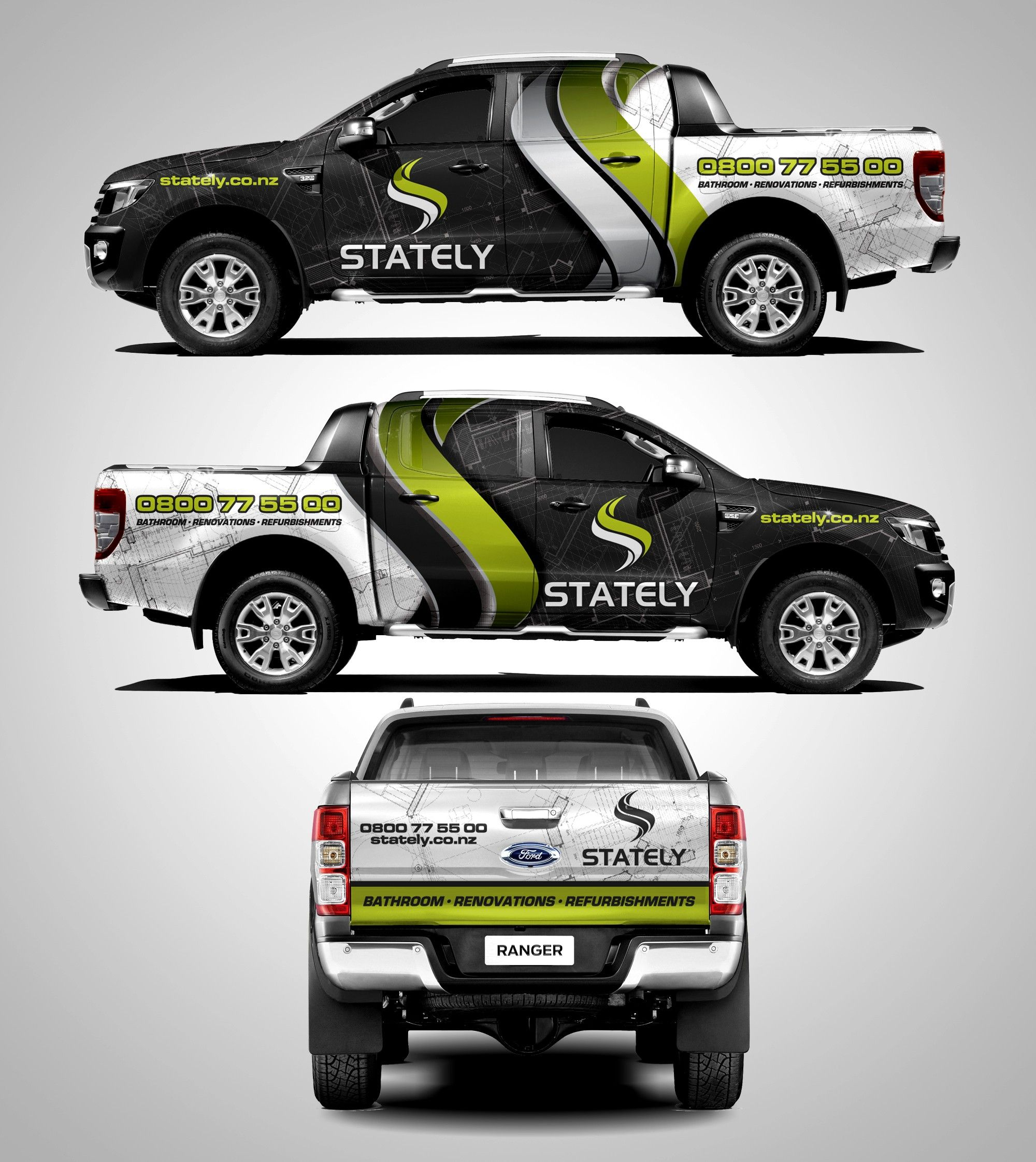 Check Out This Car, Truck Or Van Wrap From The 99designs
