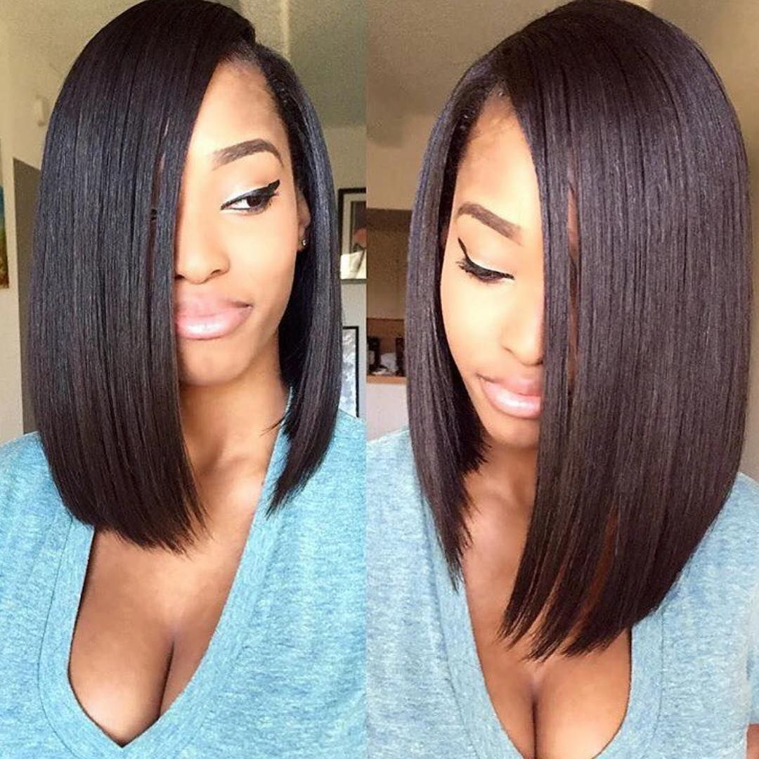 5 Ways To Slay A Bob With Hair Are Us Voice Of Hair Long Bob Hairstyles Hair Styles Bob Hairstyles
