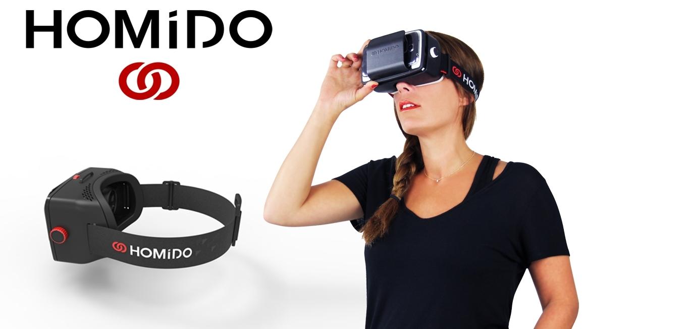 Le #casque de réalité virtuelle #Homido, un écran géant immersif   Jean-Marie Gall.com
