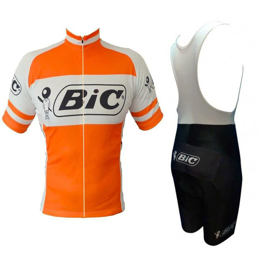2018 Men s Retro cycling jersey bib gel set MTB uniform bic clothing  bicycle wear clothes Maillot Culotte Roadbike sports suit. Yesterday s  price  US  22.91 ... d5a2a99f7