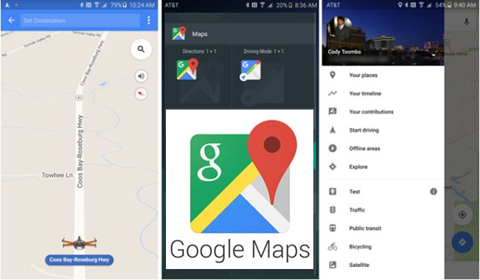How To Get Driving Directions On Google Maps In Android