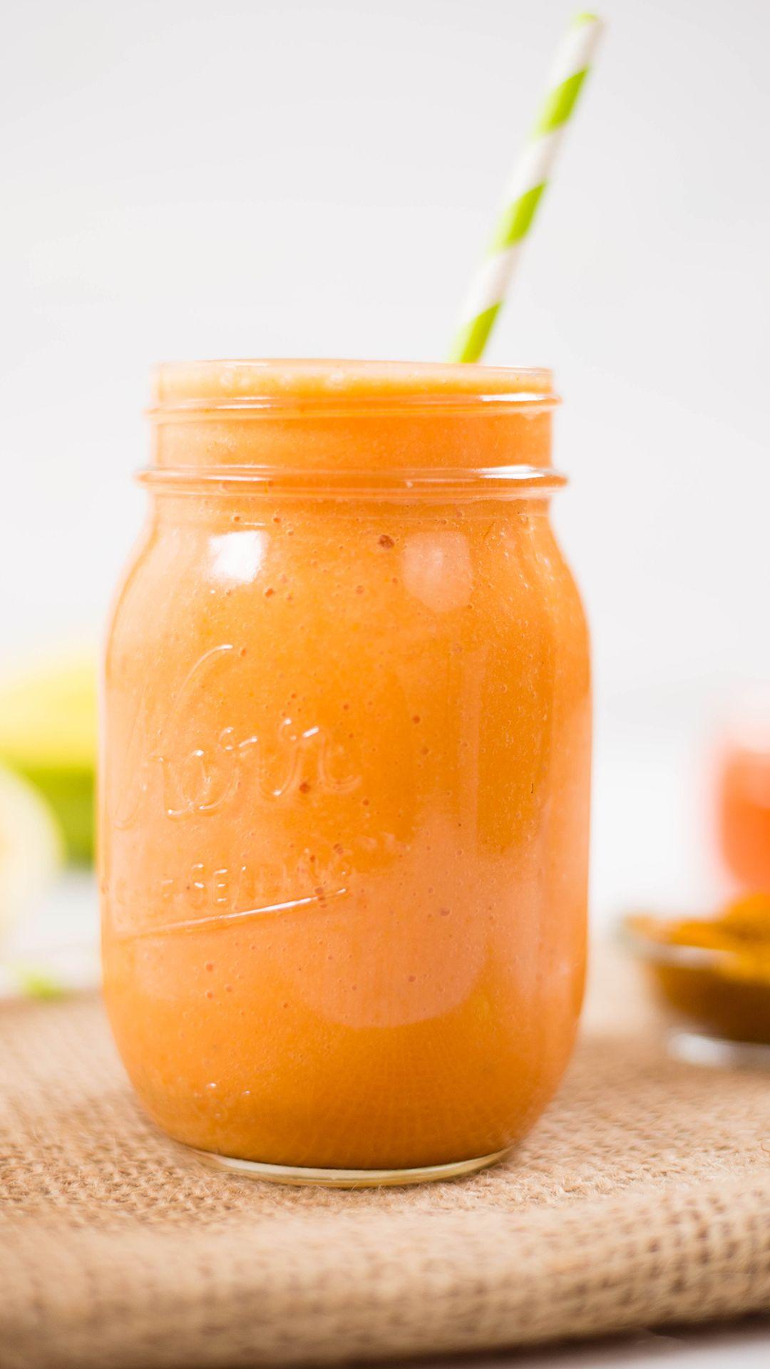Outrageous Orange Smoothie