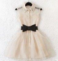 big bowed dress <3