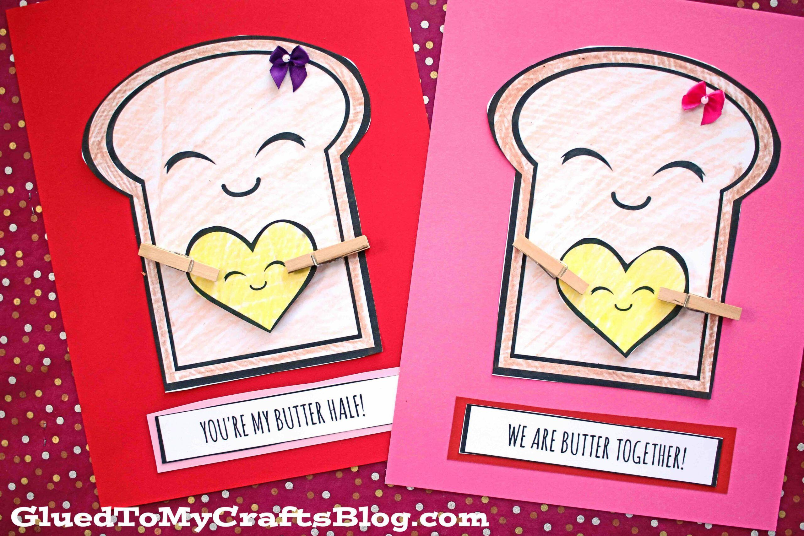 20 Custom Valentine Card Crafts Di