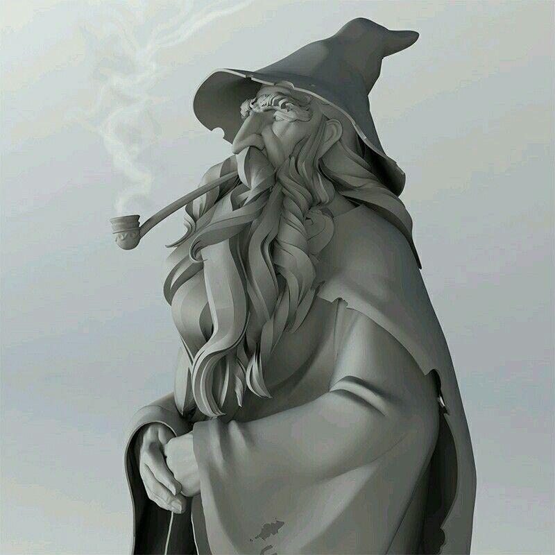 Gandalf https://www.artstation.com/p/vZmEa Steve James Freelance Illustrator -- Share via Artstation Android App, Artstation © 2016