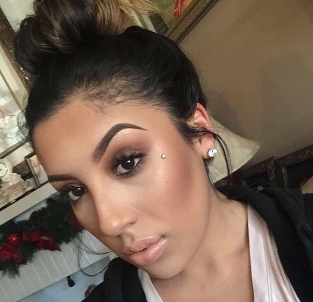 40 Dashing Dimple Piercing Ideas – Sensual and Sexy Looks  |Cheek Microdermal Piercing