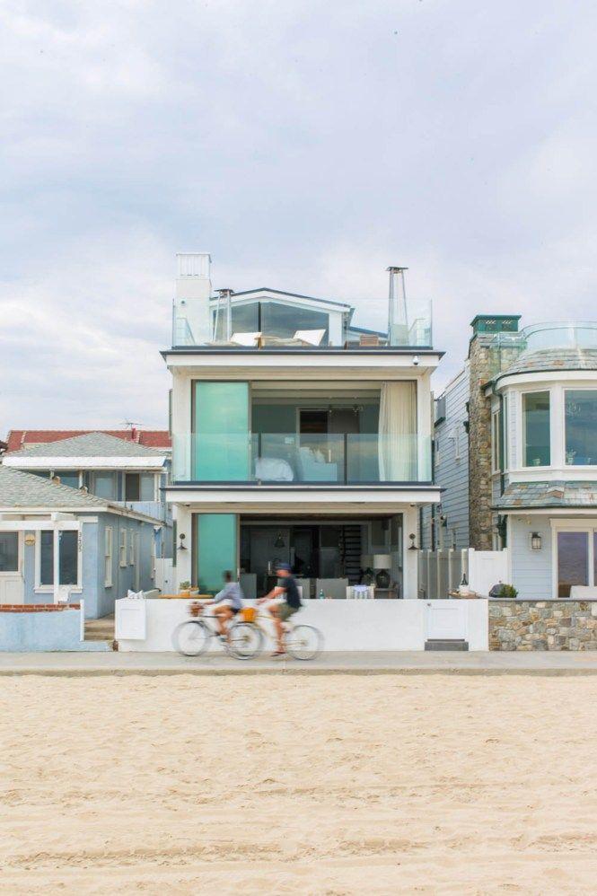 Casa Junto A La Playa En Newport Beach California