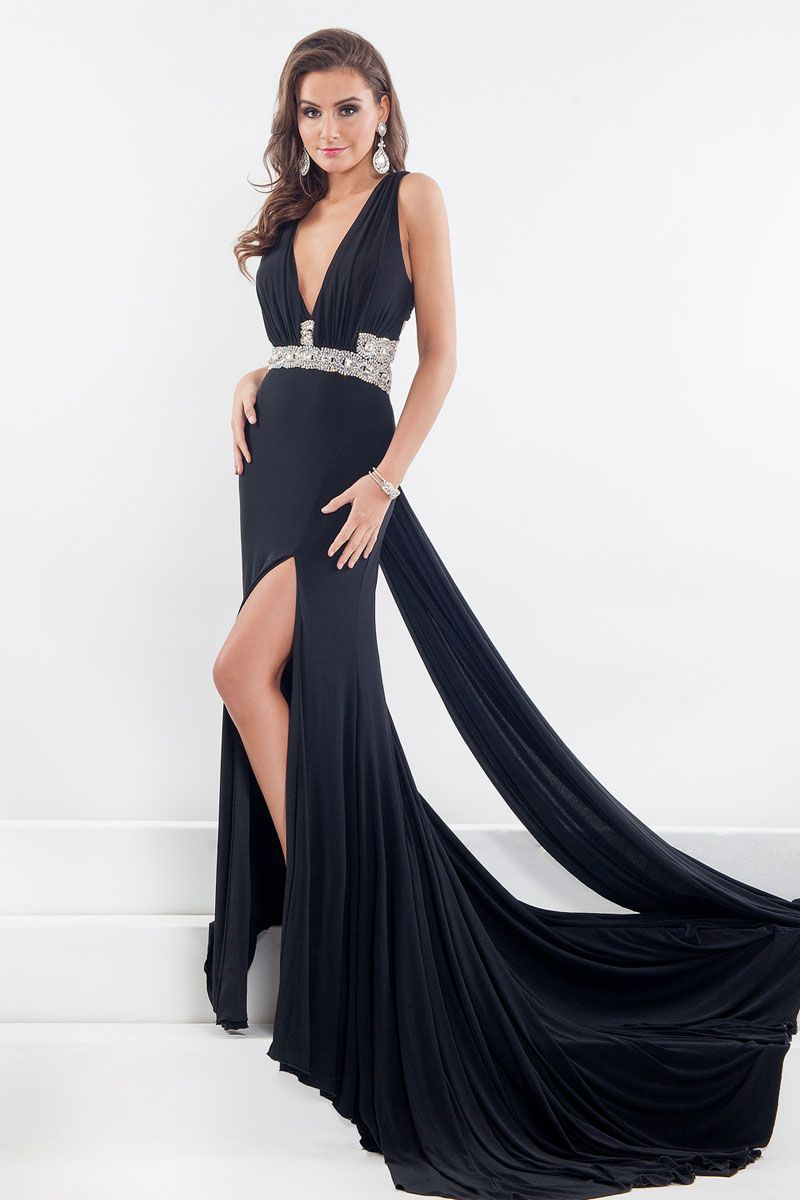 1d228f678a2 ... Evening Dresses With Beads   Rhinestones. Rachel Allen Prima Donna 5850