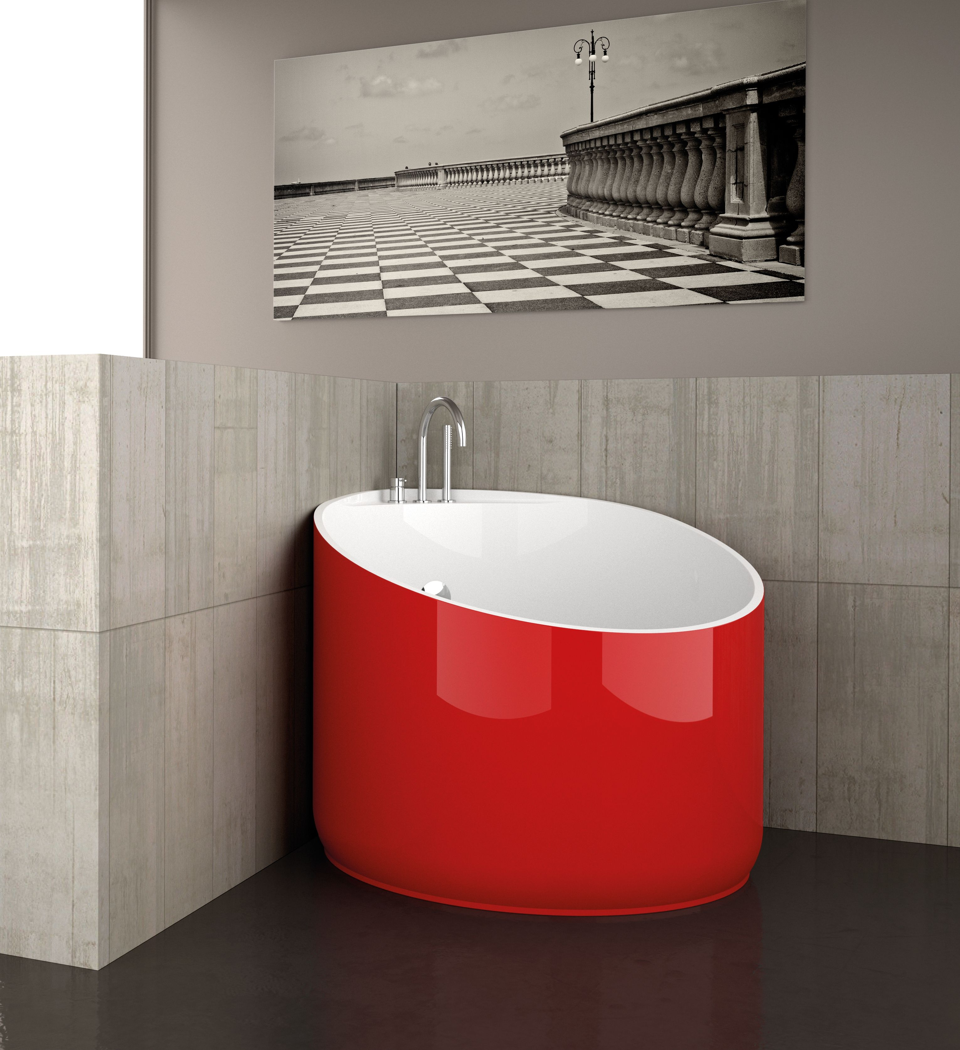 Mini Bathtub In Bi Mat, Born To Satisfy Any Needs