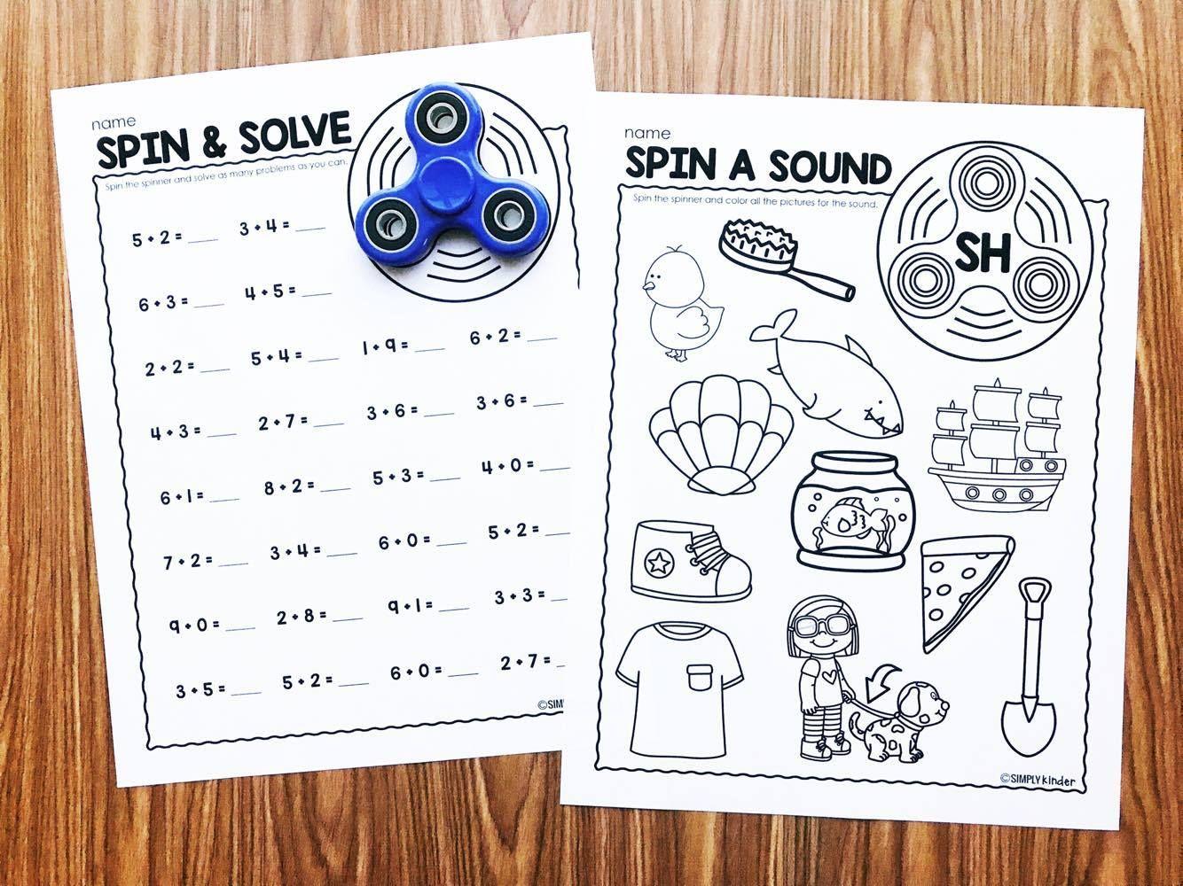 Fidget Spinner Activities for Kindergarten | Pinterest | Crazy crazy ...