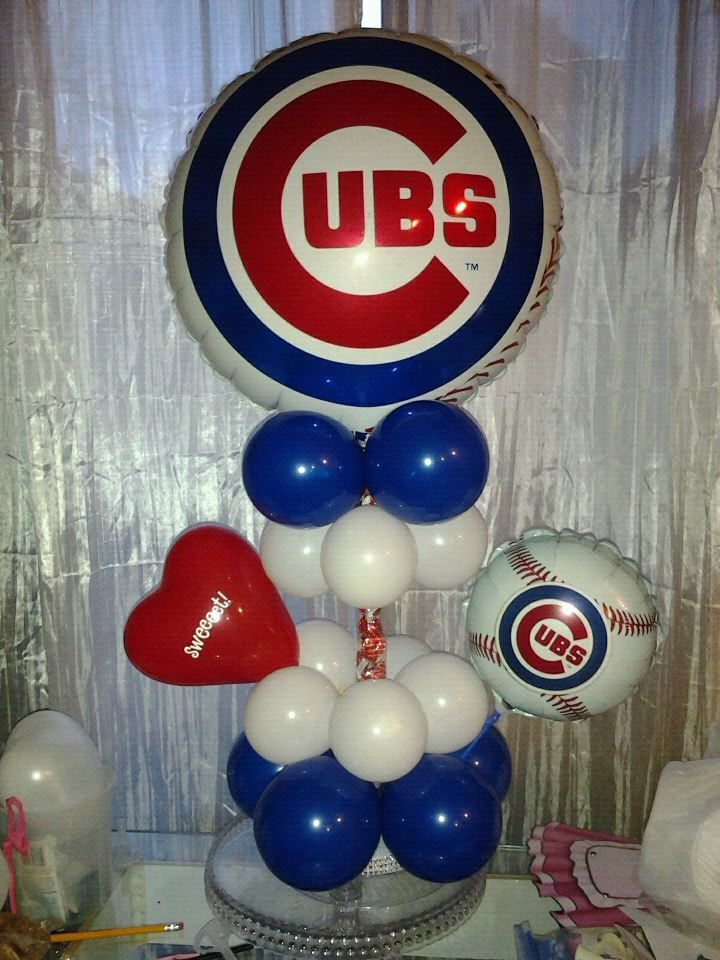 Facebook Rosielloons Sports Themed Centerpieces Balloon Centrepieces Decorations Baby Shower