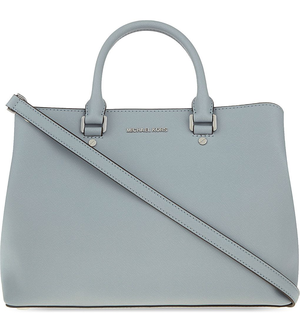 a44b6dd60e45 MICHAEL MICHAEL KORS - Savannah large leather satchel | Selfridges.com
