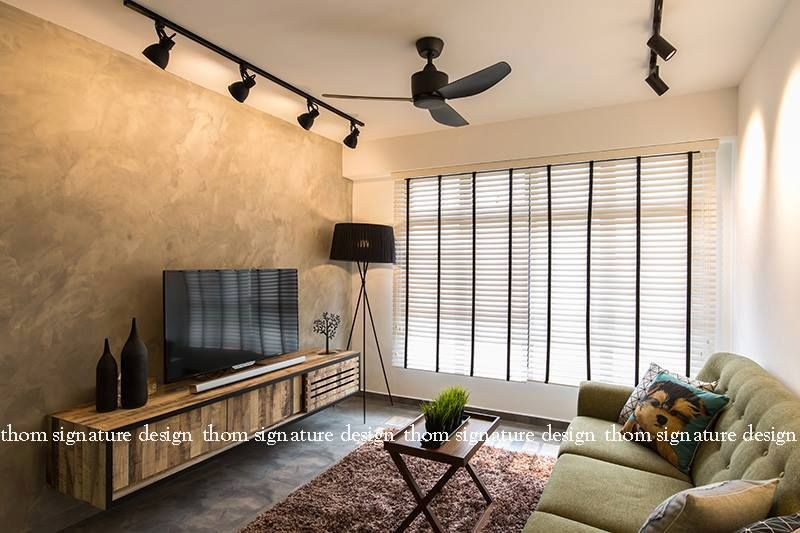 Industrial Style Track Lights Living Room Living Room Lighting Industrial Style Living Room