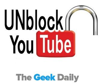 12 ways to Unblock YouTube at School, Office and University