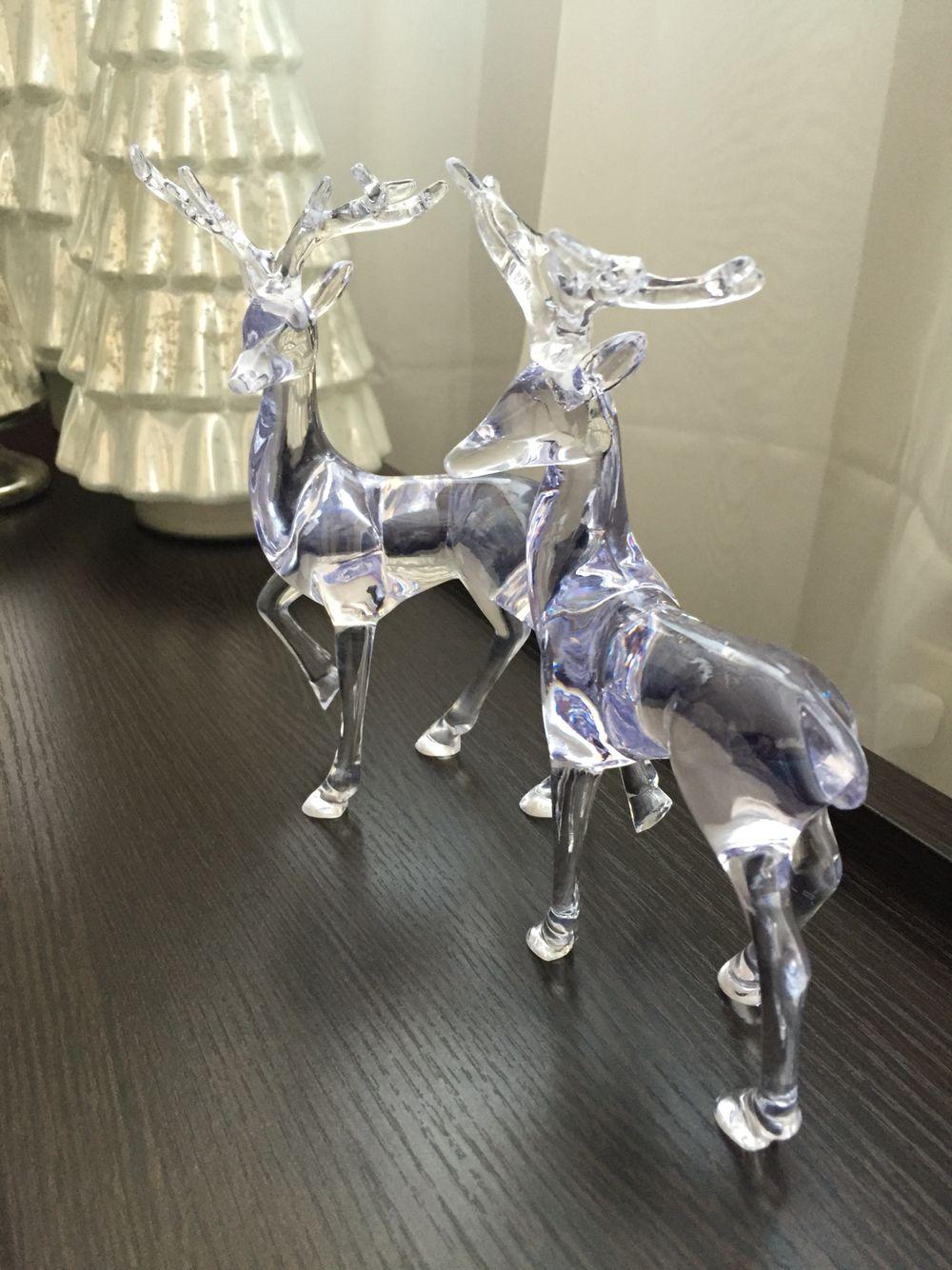 Crystal Reindeer from dollarama